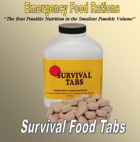 survival food tabs