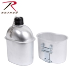 Aluminum Canteen and Cup