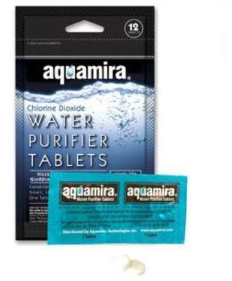aquamira water purifier tabs