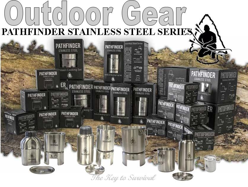 pathfinder stainless steel survival gear