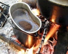 outdoor backing stoves and cookware