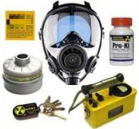 gas mask and protection from terrorism radiation